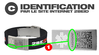 identification par le site internet 2beid